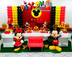 Decora��o Mickey e Minnie Festa Infantil