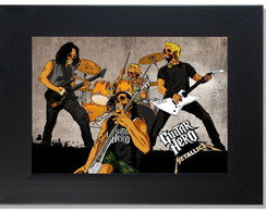 QUADRO DECORATIVO - METALLICA 5