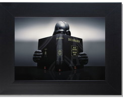 QUADRO DECORATIVO- VADER DICTIONARY