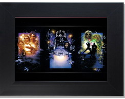 **QUADRO DECORATIVO - STAR HEROES
