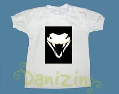 T-Shirt Beb� e Infantil COBRA