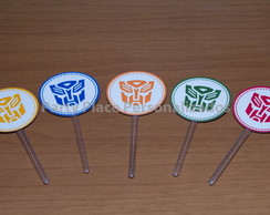 Topper para doces Transformers
