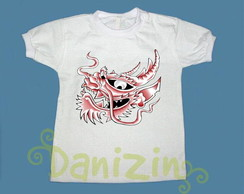 T-Shirt Beb� e Infantil DRAG�O TATOO