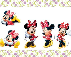 Aplique da Minnie - 3,5 cm