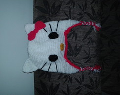 Gorro Hello Kitty em croche