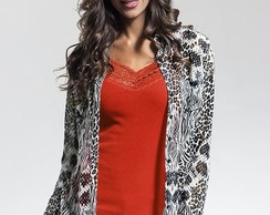 Camisete Chiffon Animal Print.