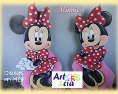 PROMO��O!!!Minnie Kit 05 displays em mdf