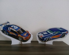 Display MDF Hot Wheels