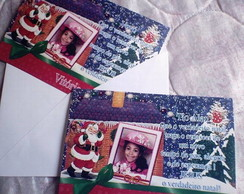 Cart�o de Natal Personalizado