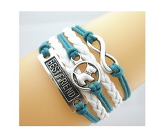 Pulseira Best Friend Dog Infinito