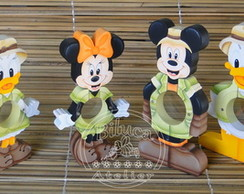 KIT 06 BALEIROS MICKEY SAFARI TAM. M�DIO