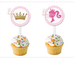 TOPPER 5 cm cupcakes