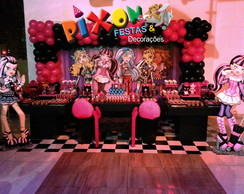 Decora��o Monster High Festa Infantil