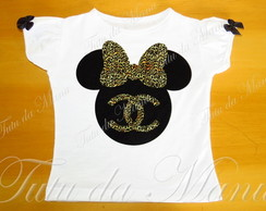 Baby Look T-shirt Minnie Chanel