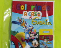 Revista Para Colorir KIT CASA DO MICKEY