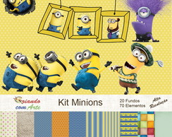 Kit Scrap Digital - Minions