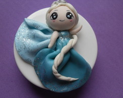 latinha decorada frozen- Elsa