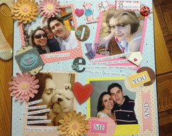 Caixa Personalizada Scrap Decor