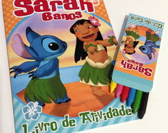 Kit de Colorir Lilo e Stitch