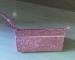 Clutch rosa floral