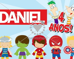Banner do Daniel - Miss�o Marvel