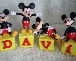 CUBOS DECORATIVOS MICKEY