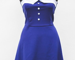 Vestido Pin up Navy