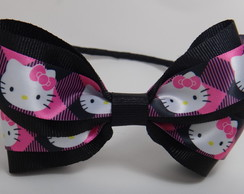 Tiara, la�o de gorgur�o Hello Kitty