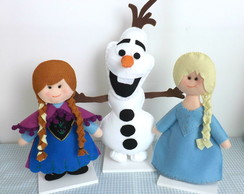Bonecos Frozen Kit Decora��o