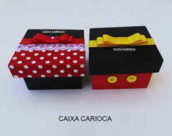 Caixas Minnie e Mickey (mdf)