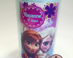 Algod�o doce que vira chiclete Frozen 2