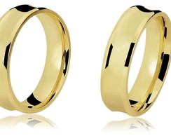 Alian�a Anat�mica Ouro 18K/0750 codLB310