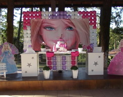 Decora��o infantil Barbie