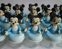 lembrancinha mickey beb� biscuit