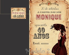 Convite Moulin Rouge