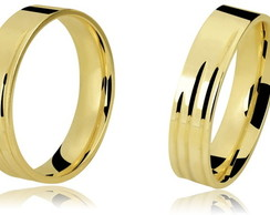 Alian�a Anat�mica Ouro 18K/0750 codLB318