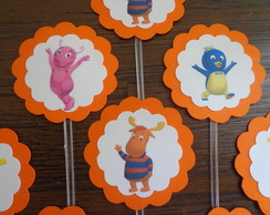 Toppers Backyardigans - Personagens