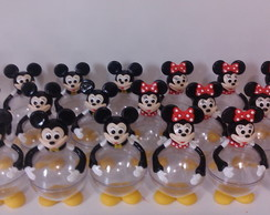 Bola Acrilica turma do Mickey Mouse