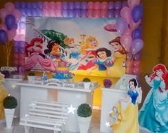 Decora��o Clean Princesas