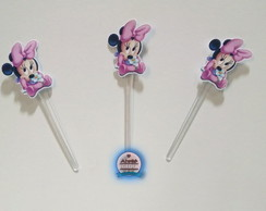 Toppers Minnie ( 15 Unidades ) Recorte