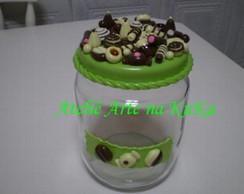 Pote de Chocolates / Bombom