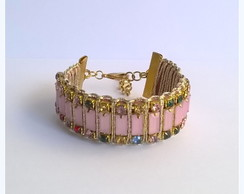 Bracelete rosa colors