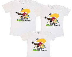 Kit Fam�lia Anivers�rio Angry Birds 2