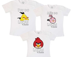 Kit Fam�lia Anivers�rio Angry Birds