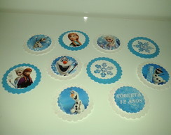 Tags e Topers Frozen 3D