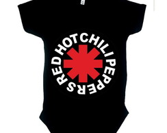 Body Preto Red Hot Chilli MC Ref 171
