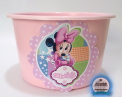 10 Baldes pl�stico Minnie Michey Baby