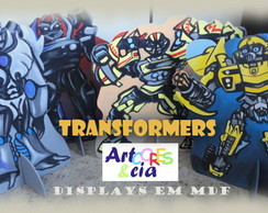 PROMO��O!! Transformers Displays em mdf