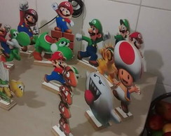 kit display mesa super Mario MDF 10 pe�a