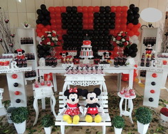Decora��o proven�al minnie e mickey